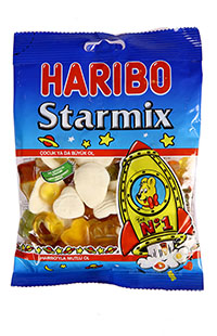 HARIBO STAR MIX 160 GR