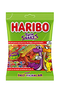 HARIBO TWIN SNAKES 67 GR