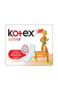 KOTEX ACTIVE SINGLE NORMAL