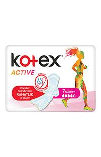 KOTEX ACTIVE SINGLE UZUN