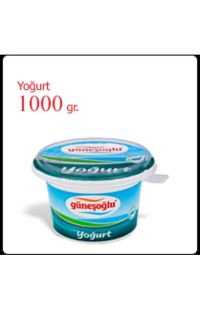 GUNESOGLU  YOGURT 1000 GR