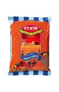 CEVIK KIRM.MERCIMEK 2500 GR