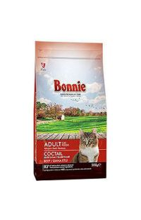 BONNIE ADULT KEDI MAMASI BEEF MULTICOLOR 500 GR