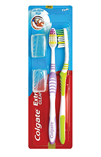 COLGATE DF EXTRA CLEAN MEDIUM 1+1