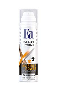 FA DEO SPREY INVISIBLE POWER MEN