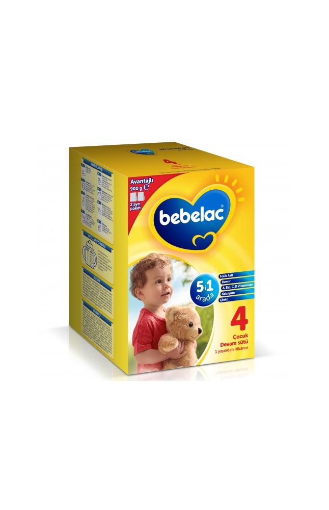 BEBELAC 4 900 GR + BEBELAC 4 250 GR HEDIYELI