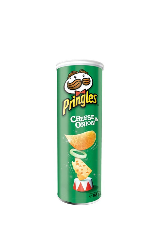 PRINGLES CHEESE&ONION 165 GR