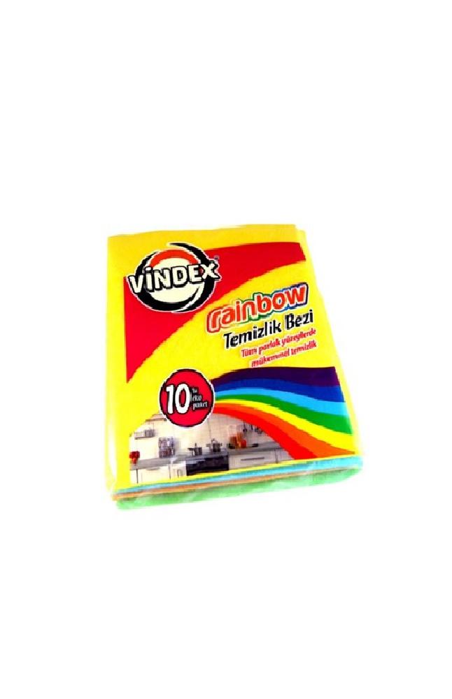 VINDEX RAINBOW TEMIZLIK BEZI 10 LU