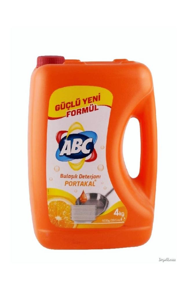 ABC SIVI BULASIK 4 KG PORTAKAL