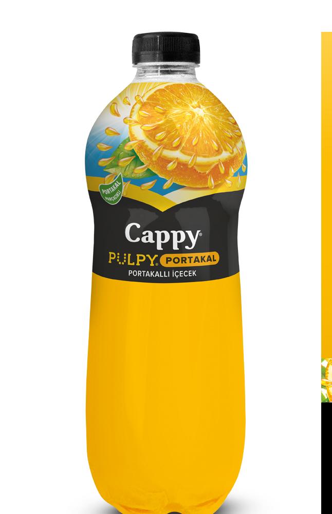CAPPY PULPY MEYVE TANEM SEFTALI PET 1 LT