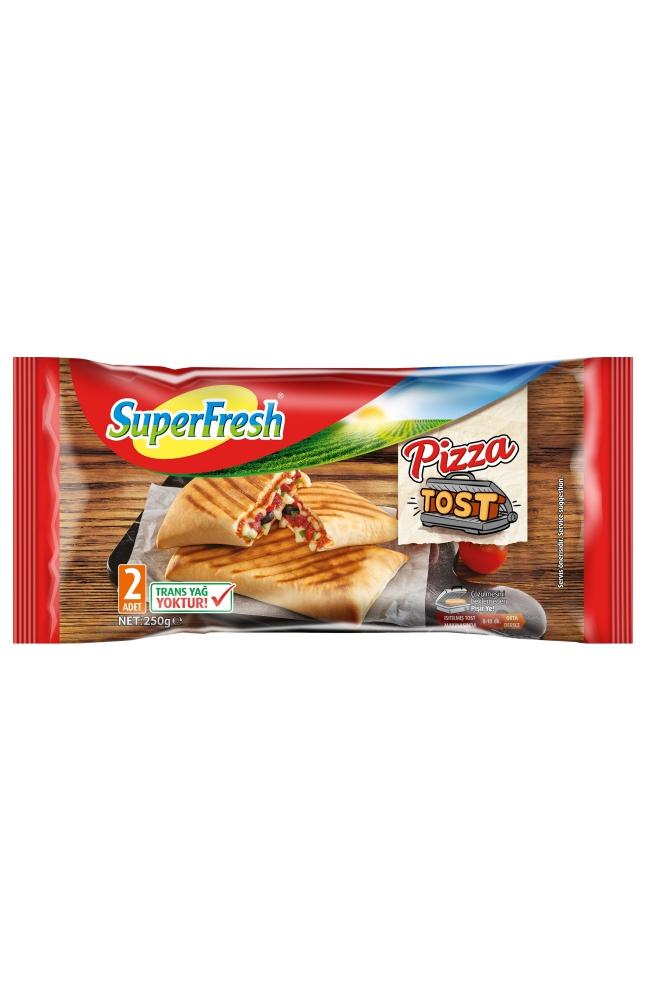 SUPERFRESH PIZZA TOST 250 GR 2 LI