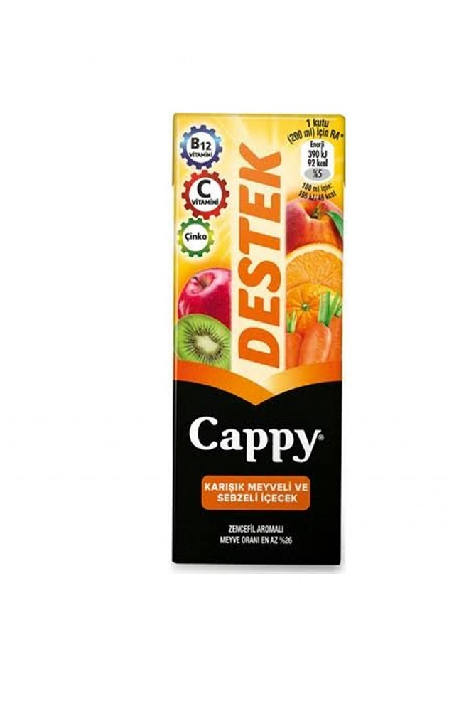 CAPPY DESTEK TETRA 200 ML