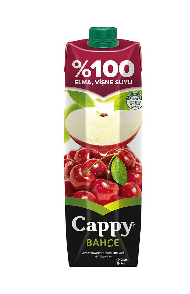 CAPPY % 100 VISNE (ELMA) TETRA 1 LT