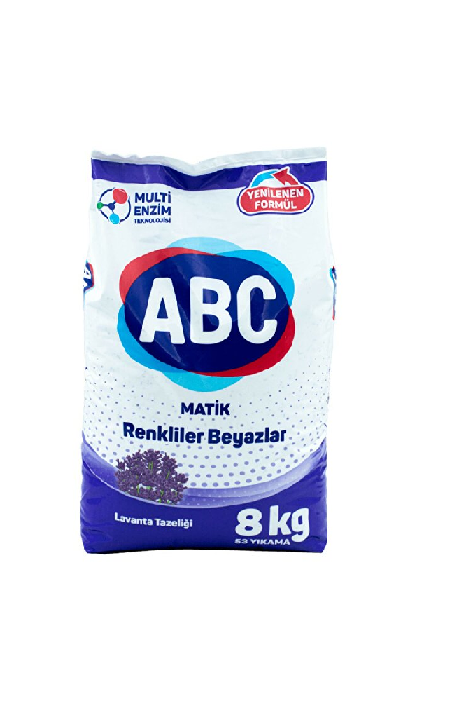 ABC MATIK 8 KG LAVANTA TAZELIGI