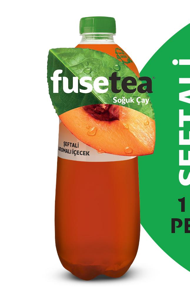 FUSE TEA 1 LT PET SEFTALI