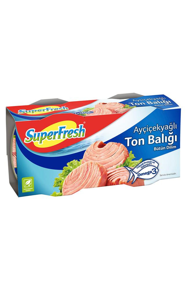 SUPERFRESH TON BALIGI 2x160GR