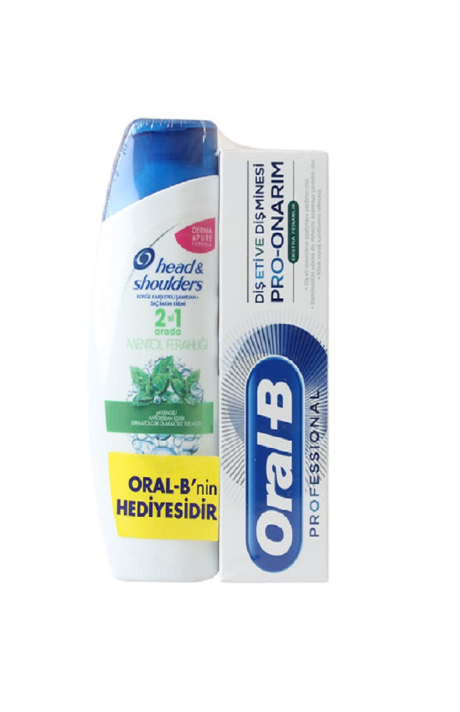 ORAL-B PRO ONARICI EXTRA FERAHLIK 75ML + HDSOULDERS 180 ML