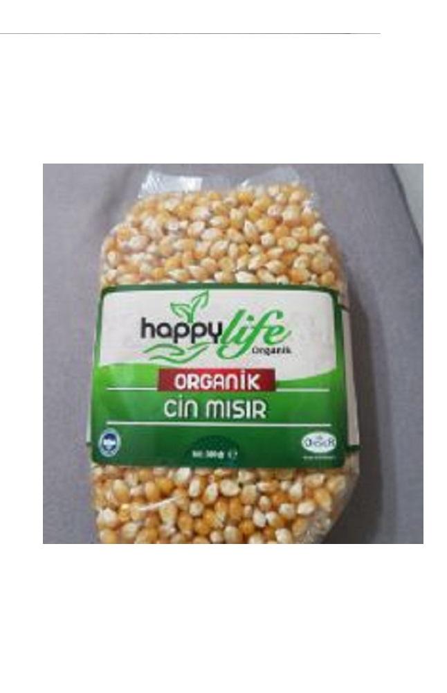 HAPPY LIFE ORGANIK CIN MISIR 500 GR