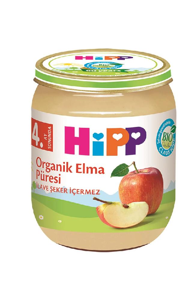 HIPP ORGANIK ELMA PURESI 125 GR