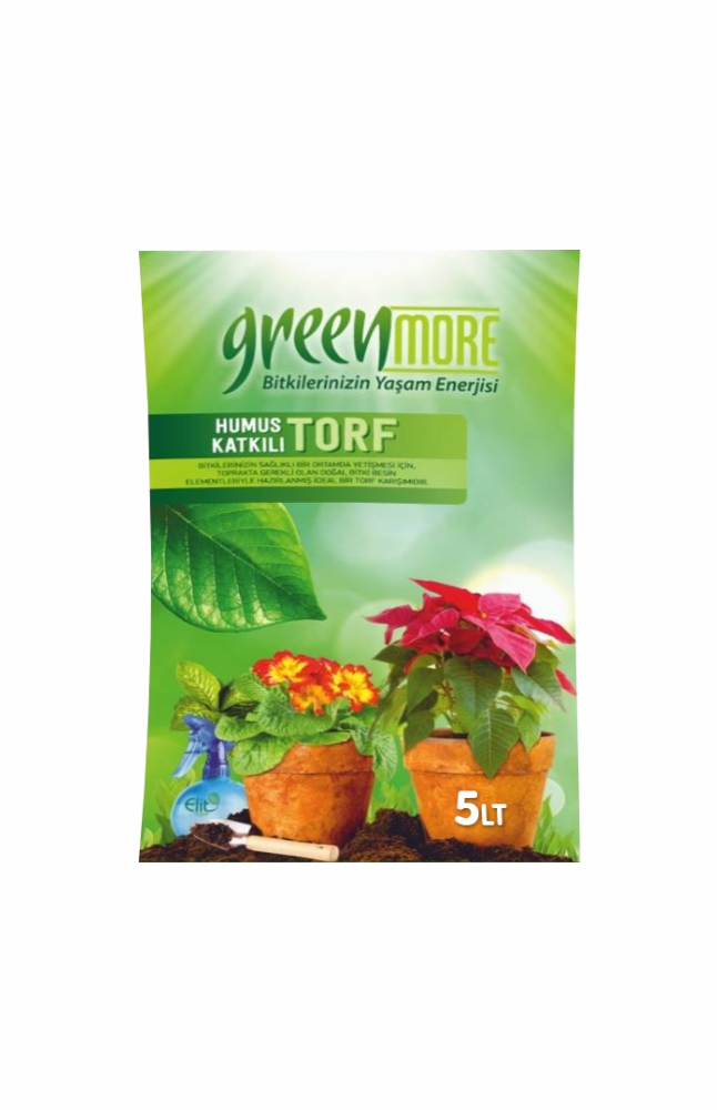 ELIT GREEN MORE HUMUS KATKILI  TORF 5 LT