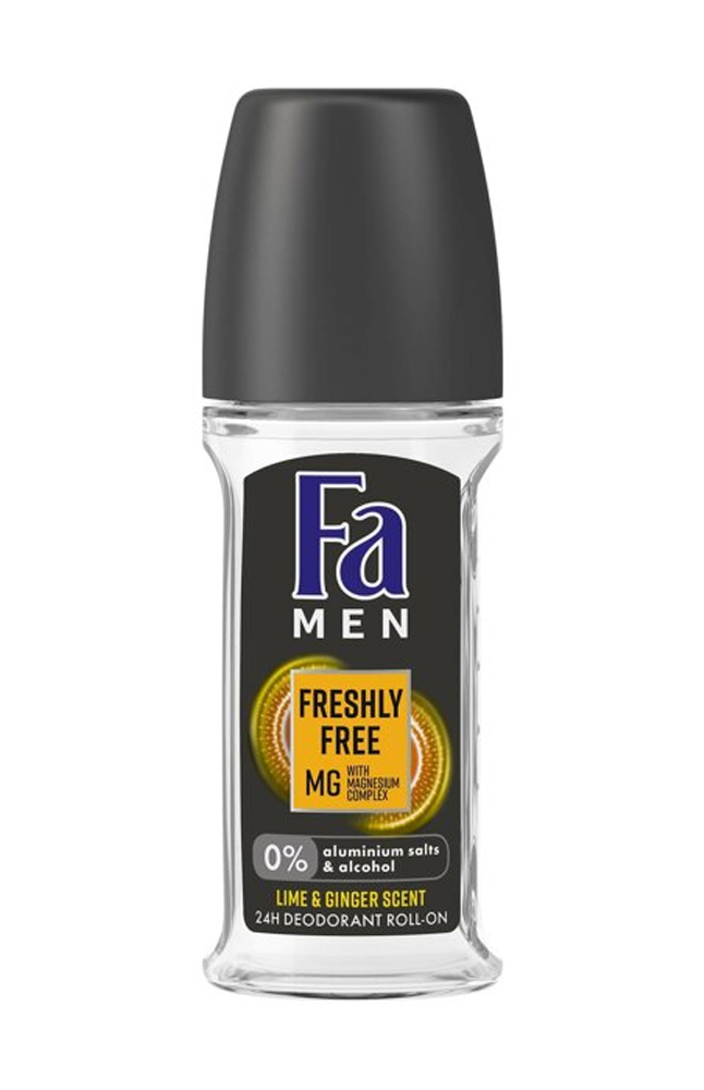FA ROLL-ON FRESH FREE LIME & GINGER 50ML