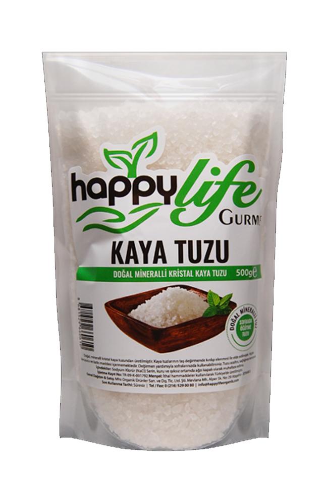HAPPY LIFE KAYA TUZU KIRISTAL 500 GR