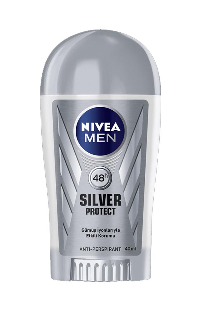 NIVEA STICK SILVER PROTECT 40 ML ERKEK