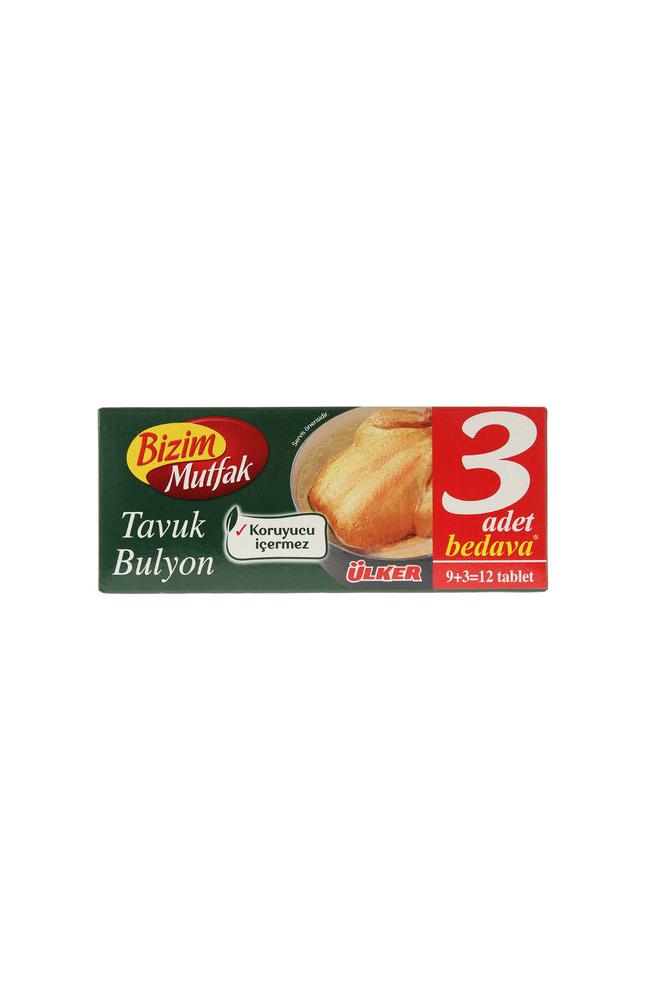 BIZIM MUTFAK 9+3 TAVUK BULYON 120 GR