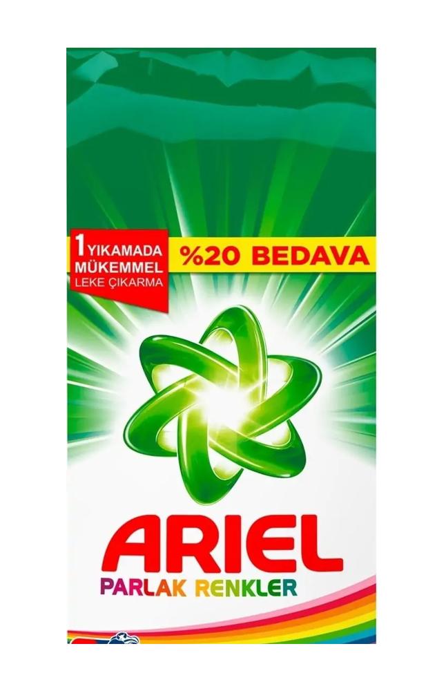 ARIEL 7,5 KG PARLAK RENKLER