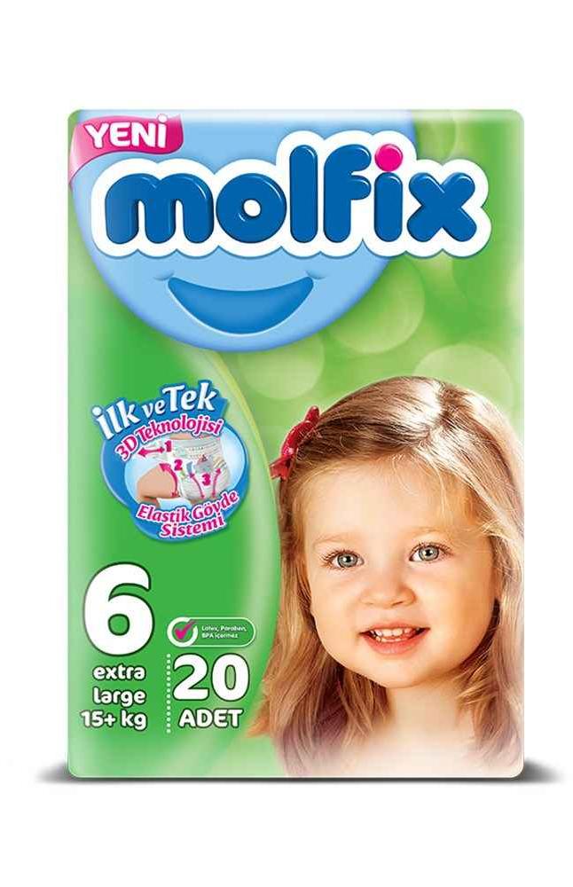 MOLFIX 3D E.LARGE 20X6 JUMBO