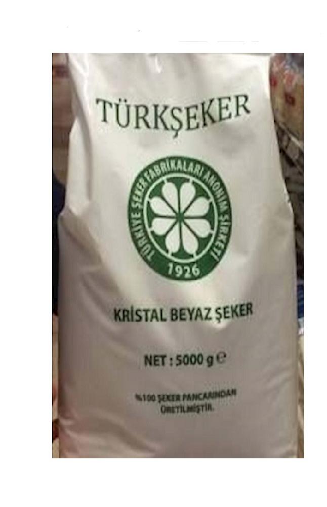 TURKSEKER  TOZ SEKER 5 KG POSET