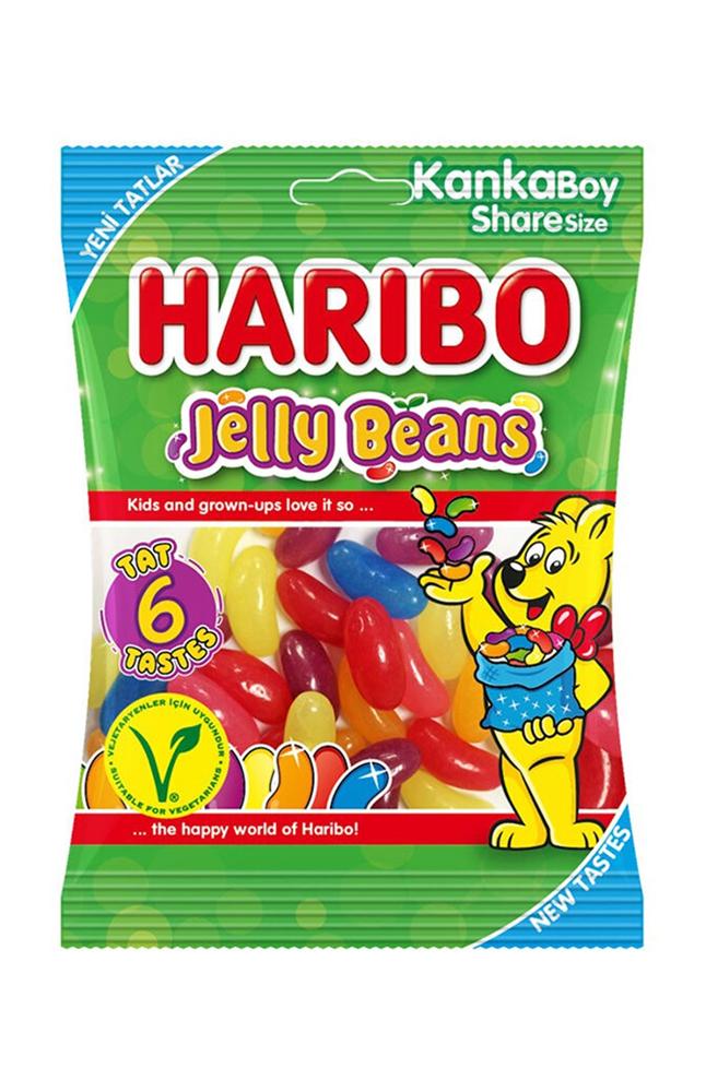 HARIBO JELLY BEANS 80 GR