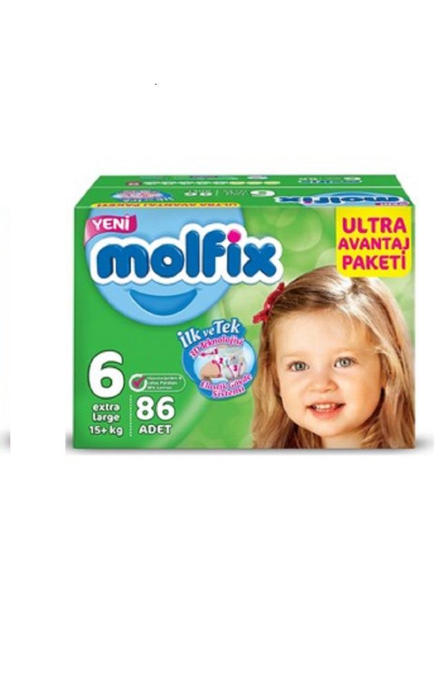 MOLFIX PANTS ULTRA AVANTAJ PAKETI EXTR LARGE 86 LI