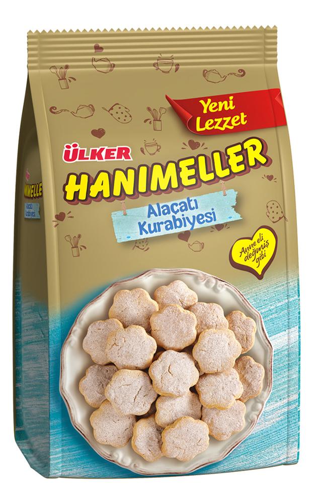 ULKER HANIMELLER ALACATI KURABIYESI 117 GR