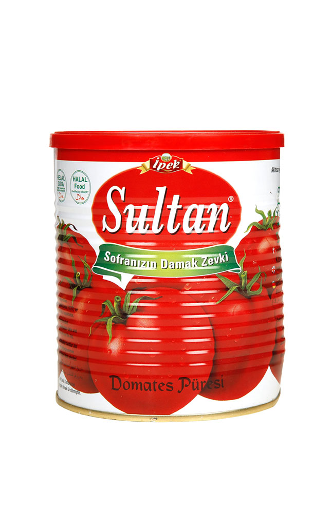 SULTAN TNK DOMATES PURESI 800 GR