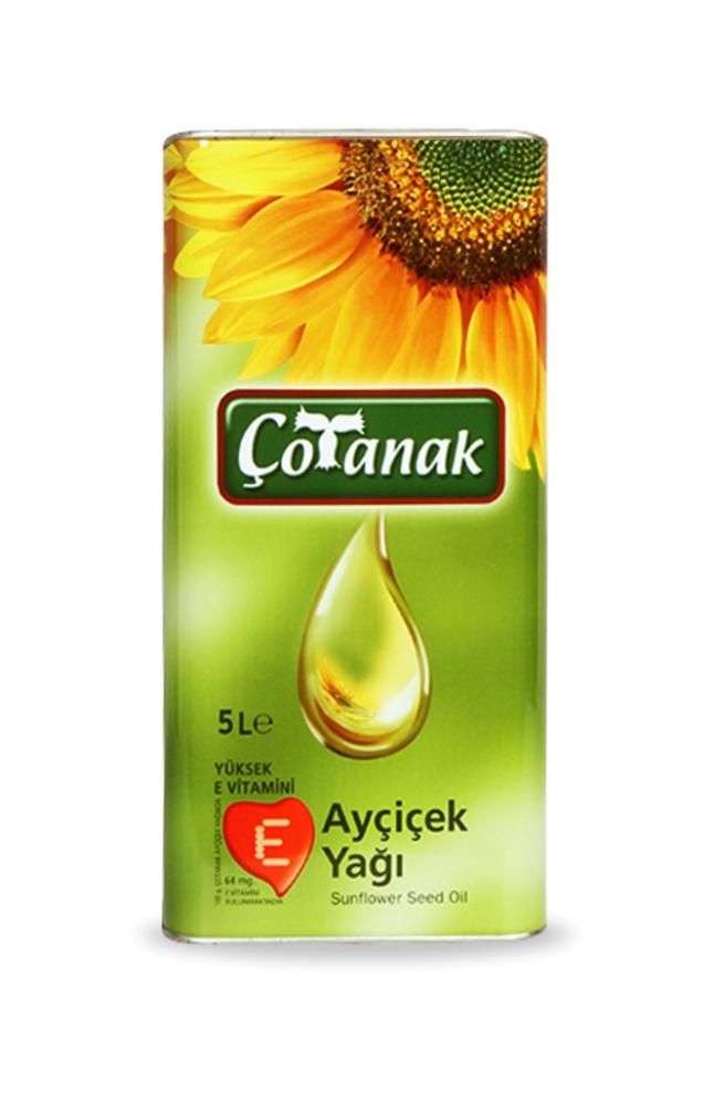 COTANAK AYCICEK YAGI 5 LT