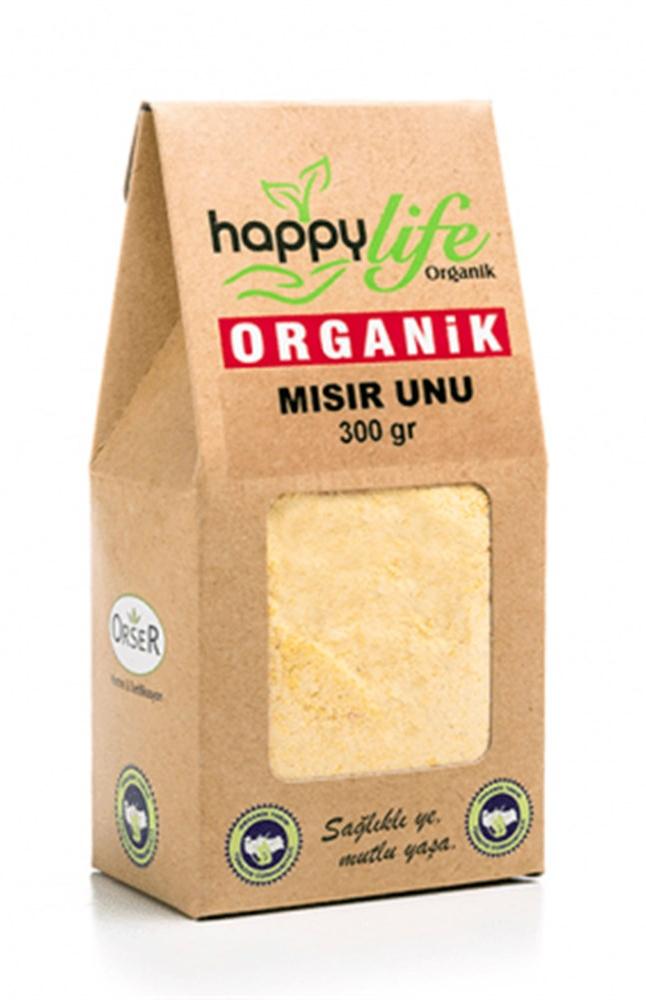 HAPPY LIFE ORGANIK MISIR UNU 300 GR