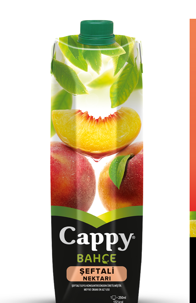 CAPPY % 100 SEFTALI (ELMA) TETRA 1 LT
