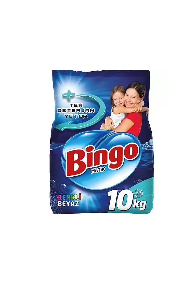BINGO MATIK KONS. RENKLI & BEYAZ 10 KG