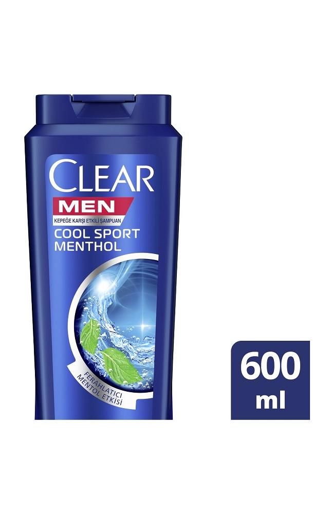 CLEAR MEN COOL SPORT MENT. SAM. 600 ML