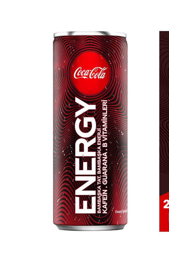 COCACOLA ENERGY 250 ML