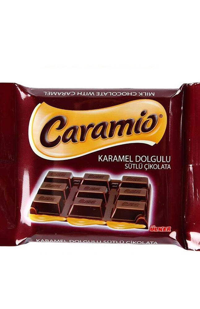 ULKER CARAMIO KARAMELLI CIKOLATA 55GR