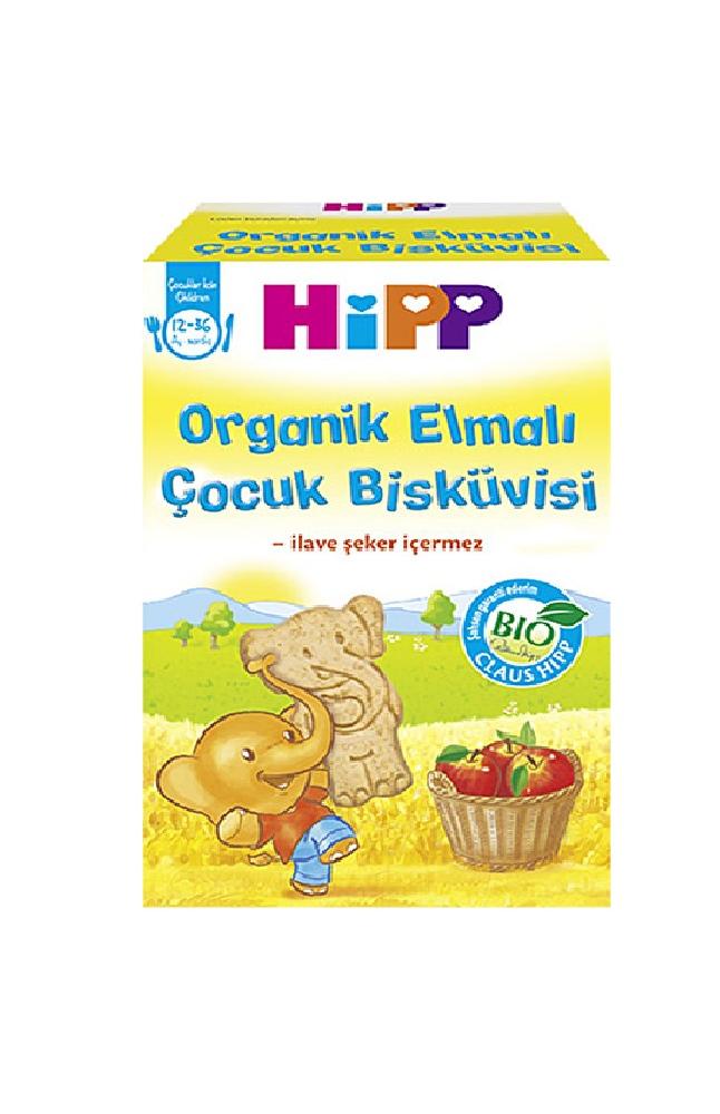 HIPP ORGANIK ELMALI COCUK BISKUVISI 150 GR