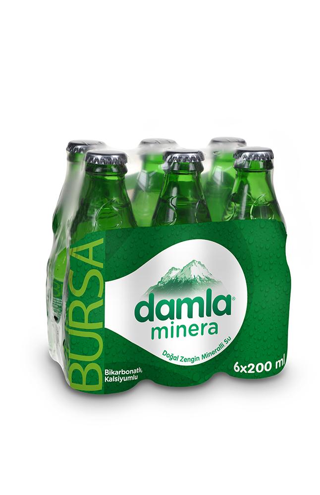DAMLA MINERA 6X200 ML