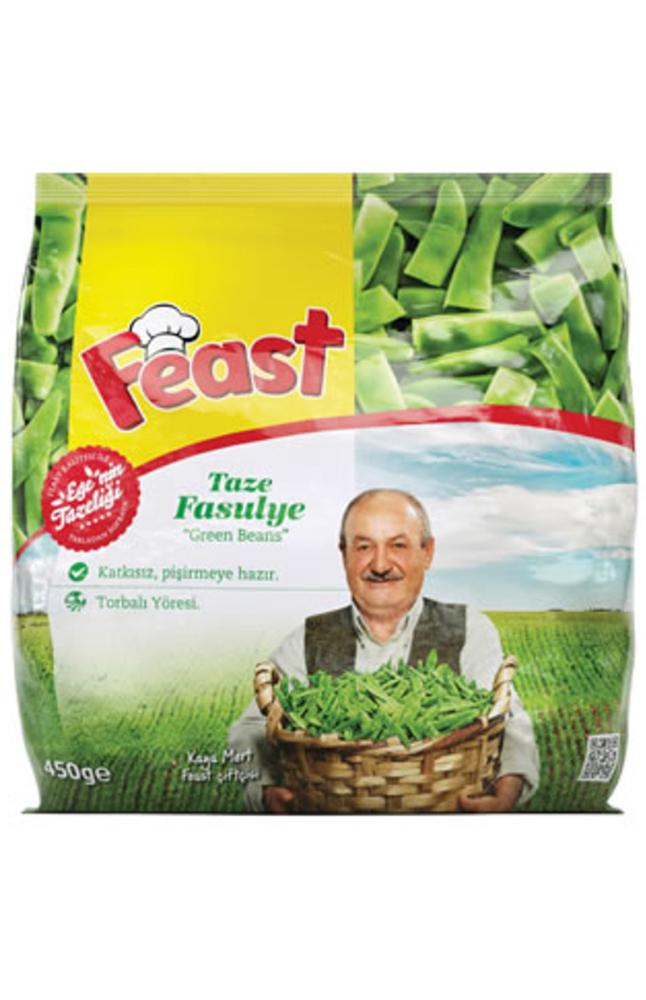 FEAST TAZE FASULYE 450 GR