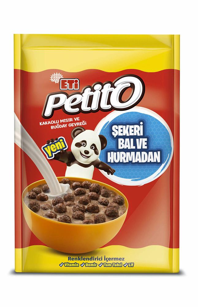 ETI PETITO KAKAOLU MISIR VE BUGDAY GEVREGI 350 GR