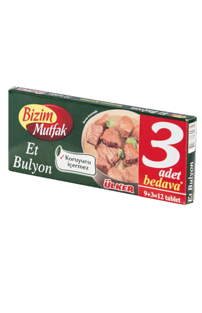BIZIM MUTFAK 9+3 ET BULYON 120 GR