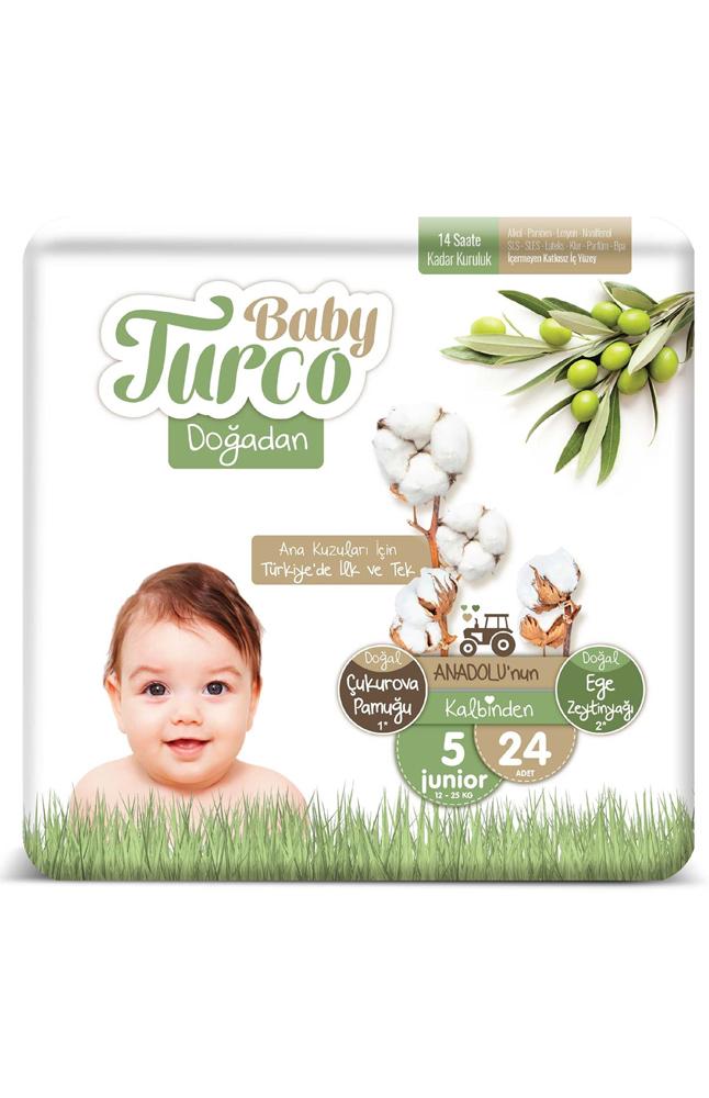 BABY TURCO DOGADAN 5 NUMARA JUNIOR 24 LU
