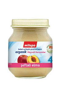 MILUPA ORGANIK SEFTALI-ELMA 125 GR