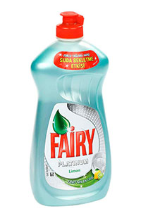 FAIRY SIVI PLATINUM DETERJAN LIMON 430 ML